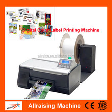Office Desktop Injet Color Label Printer, Automatic Roll to Roll Sticker Label Printing Machine, Digital Label Printer
