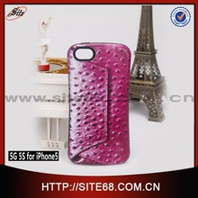 New Product Mobile Phone Case tpu leather flip case for iphone 5G 5S Mobile Phone Case