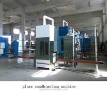 Manufacturer supply glass sandblaster for sale/glass machine