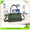 custom special size high quality fashion leather green bag