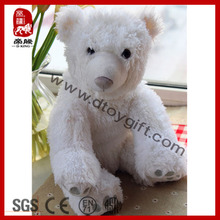 2014 Popular Pure White Polar Bear with Snow Embroidery Decoration/Gift Plush Toy
