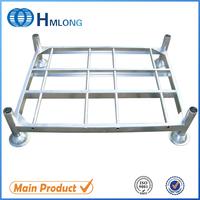 Galvanized steel pallet racking portable stacking rack