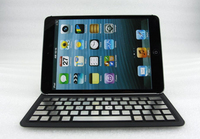 Removable Ultra Thin Bluetooth Keyboard Leather Case Cover For Apple iPad Mini