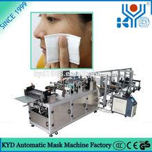 las mujeres no tejida comestic plaza de algodón que hace la máquina para puff faciales