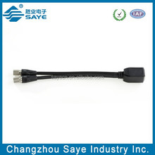 Balun Pigtail Dual 1.6/5.6 Male to RJ45,RG59 cable 0.25m,1m,2m-Balun connector