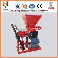 eco brava interlocking block machines for producing decorative concrete blocks wall