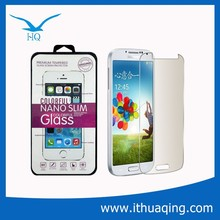 reasonable price excellent quality anti-ray glass screen guard for S4