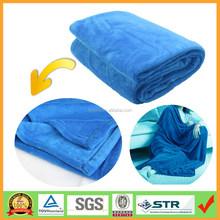 Oversized All Season Plain Microfiber Plush Thick Throw Blanket