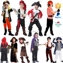 Dropshipping Fancy Pirate Kids Carnival Costumes