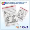 Plastic drug packaging bag/ types of drug packaging