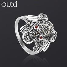 OUXI top sale latest design antique genuine diamond ring