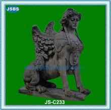 Antique Home Decorative Famous Marble Sphinix Statue