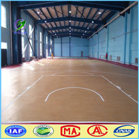 2015 high quality pvc flooring/pvc sports flooring For Indoor Basketball Court Use