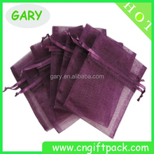 Popular party silk gift organza bag for wedding gift