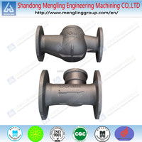 Customed Iron Casting Machined Valve Parts