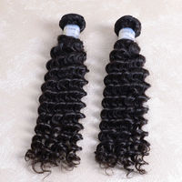 DK Top Sale 3 packs 22inch Full cuticle 6a grade peruvian deep wavy curly hair