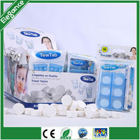 New product cheap Compressed napkins Facial wet coin towel Magic towel tablet
