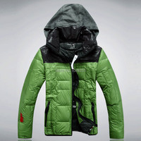 мода мужской куртки плюс водонепроницаемый мужчин размер вытяжки вниз куртки Мужские зимние куртки мужчины зимнее пальто и пиджаки