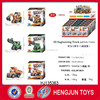 2015 Hot sale 3D Assembly Engineering truck Pull back Car toy
