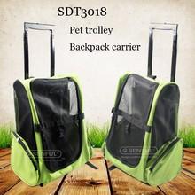 Pet Transport Cage Pet Trolley Pet Stroller back pack wheels