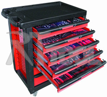 220pcs kraftwelle germany tool trolley high quality Auto repair tools
