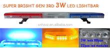 Hot sale high quality vehicle security lightbar led lightbar source 4 color option