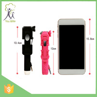 12cm Mini Handheld Selfie Stick pen for cellphone and camera Christmas Gift and thanksgiving day
