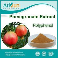 40%-90% Pomegranate Extract Organic Pomegranate Polyphenol