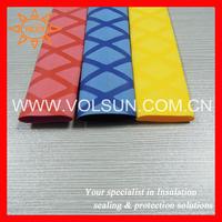 Colored non slip heat shrink tube for fishing rod