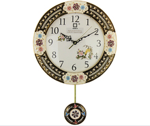 vintage retro lighted led wall clock JHF-019