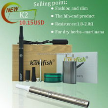 New products k2 vaporizer vape pen dry herb vaporizer k2 e cigarette for dry herbs