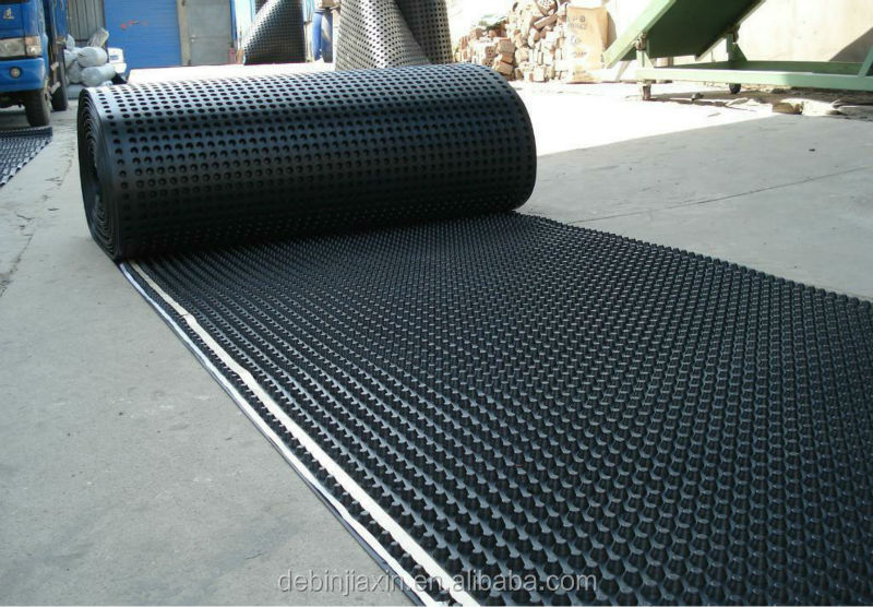 Landscape Plastic Thickness : Hdpe garden drainage board dimple sheet mm thick buy