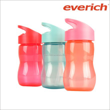 350ml plastic water bottle with straw for kids