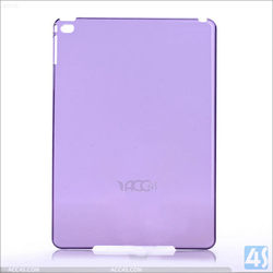 mix colors crystal hard plastic cases for ipad air 2 / apple ipad 6
