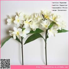 High quality artificial flowers, fake plumeria flowers artificial plumeria