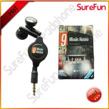 customer molded packing earphone for mobile