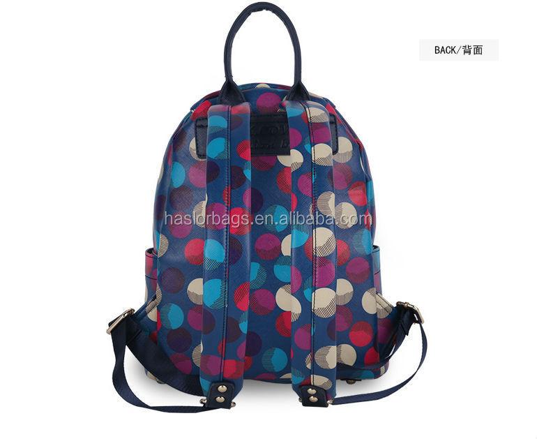 2015 nouveau design et le style chaud mode sac à dos pour les adolescentes