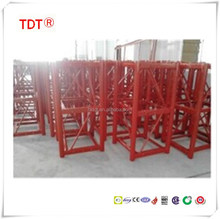 Rack pinion Mast section for construction building hoist,Outdoor elevator construction parts