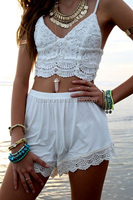 2014 Sexy Grils Spaghetti Strap Lace Tank Top for Women LC180
