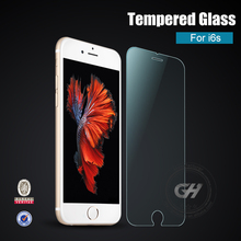 new arrival !!anti broken 0.3mm 2.5d 99% transparent rate tempered glass screen protector for iphone 6s