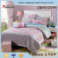 Chinese new product quilt fabric cotton bedding set bedsheets pillowcase China product