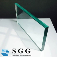 ultra clear safety toughened glass price(3mm 4mm 5mm 6mm 8mm 10mm 12mm 15mm 19mm thick)