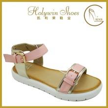 2015 hot sales ladies sandal shoes