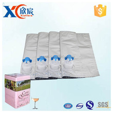 10L aseptic bag in box with dispenser for milk, sauce, tomato