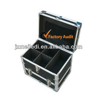 MLDGJ340 Professional Customized Travel Set Heavy Duty Double Open Hard Tool Case Multi Mini Guns Carrying Box Aluminium