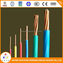 CE Certified 1.5mm,2.5mm,4.0mm,6.0mm,10.0mm pvc insulated electric wire