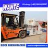 CHINA WANTE MACHINERY Conventional walk type block machine WT10-15