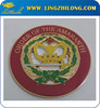 Gold Crown Auto Badges Zinc Alloy Car Logos Vehicle Emblem
