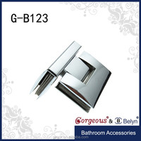 Alibaba unique curved 90 degree glass-glass shower Door Hinge Removal