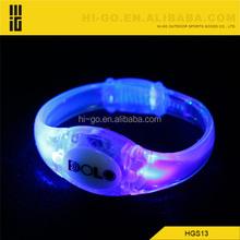 glow wristband decorative items for wedding fashion silicone bracelets